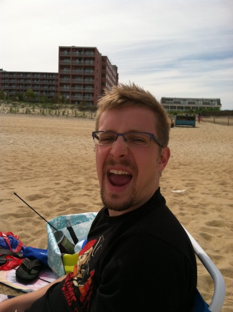 That's my beach face.
