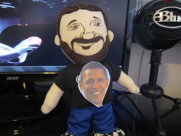 ...or a president's face on your plush chest.