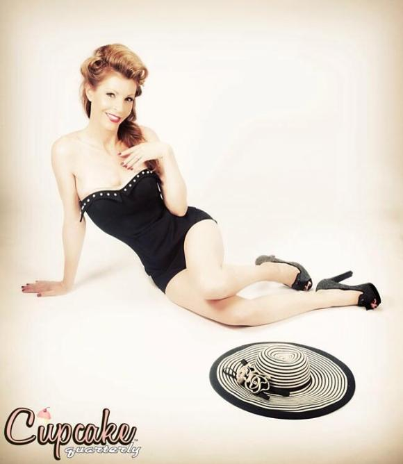 anne wheaton cupcake quarterly pinup