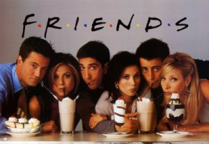 Friends used to get group face-photos huddled around ice cream treats.